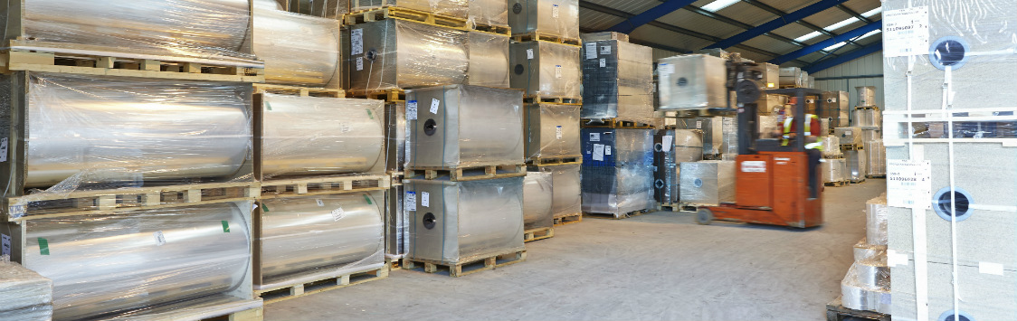 BRC certified warehouse facilities as well as a Stock and Serve service for all your packaging products.