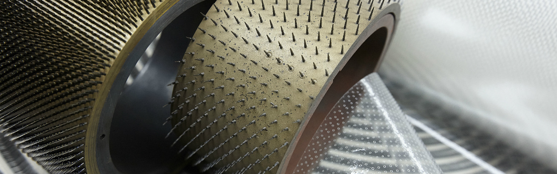 Multi-perforating packaging with various hole patterns, punched hole diameters and hole coverage