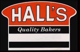 Hall's quality bakers logo
