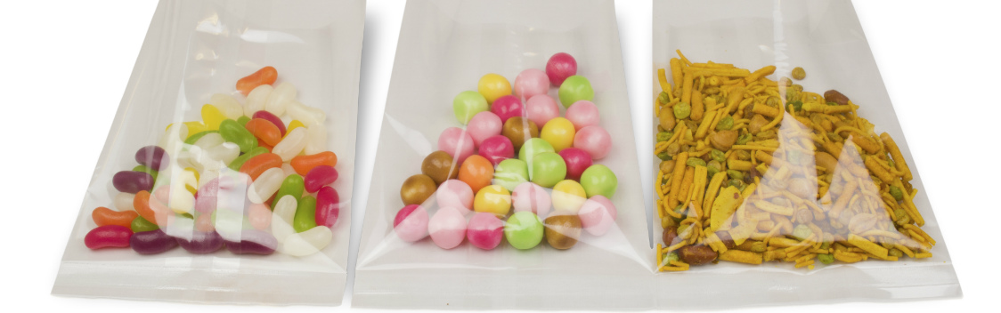 Better product presentation with Lapseal packaging bags ideal for sweets and confectionery