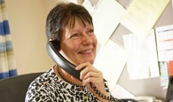 Carol - Commercial Administrator ensure production and despatch schedules are adhered to.